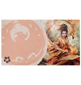 Fantasy Flight Supply Legend of the Five Rings LCG Playmat: The Soul of Shiba