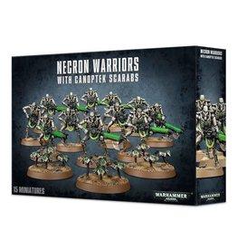 Games Workshop Necron Warriors with Canoptek Scarabs