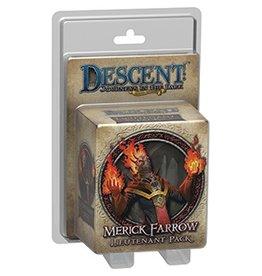 Fantasy Flight Games Descent 2E: Merick Farrow