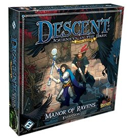 Fantasy Flight Games Descent 2E: Manor Of Ravens