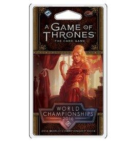Fantasy Flight Games Game of Thrones LCG: 2016 World Champion Deck