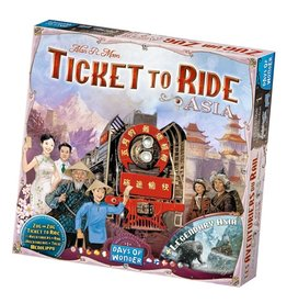 Days of Wonder Ticket to Ride Map Collection Volume 1: Asia