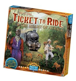 Days of Wonder Ticket to Ride Map Collection Volume 3: Africa