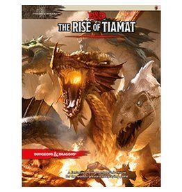 Wizards of the Coast D&D 5E: Rise of Tiamat Book