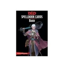 Gale Force Nine D&D Spellbook Cards: Bard 2nd Edition