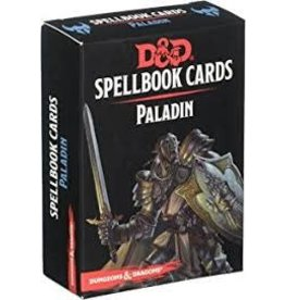 Gale Force Nine D&D Spellbook Cards: Paladin 2nd Edition
