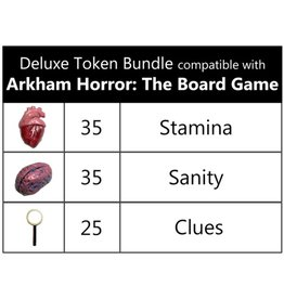 Top Shelf Gamer Realistic Resources - Arkham Horror: The Board Game