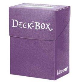 Ultra Pro Deck Box: Ultra Pro Purple