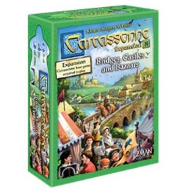 ZMAN Carcassonne 2.0: Bridges, Castles & Bazaars
