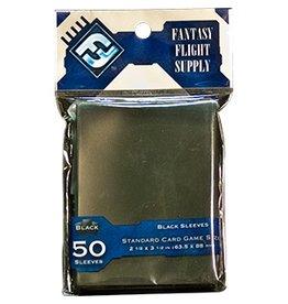 Fantasy Flight Supply Card Sleeves: Standard Black