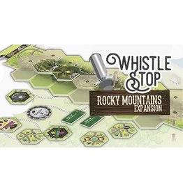 Bezier Games Whistle Stop: Rocky Mountains