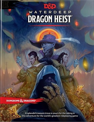 Wizards Of The Coast D Amp D 5e Waterdeep Dragon Heist Hc