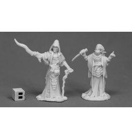 Reaper Mini Bones: Cultist Priests