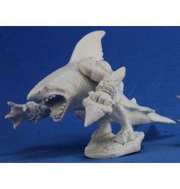 Reaper Mini Bones: Sharkman
