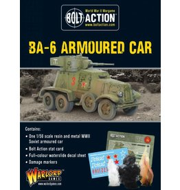 Warlord Games BA-6 Armoured Car