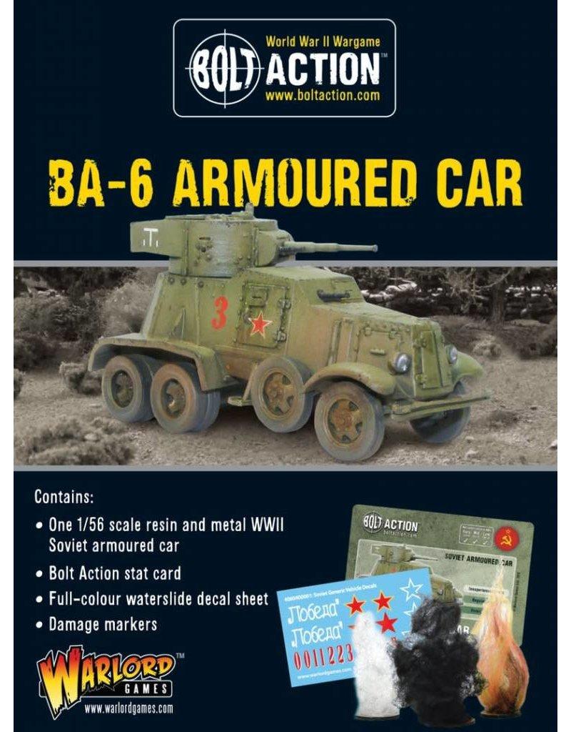 Warlord Games BA-6 Armoured Car