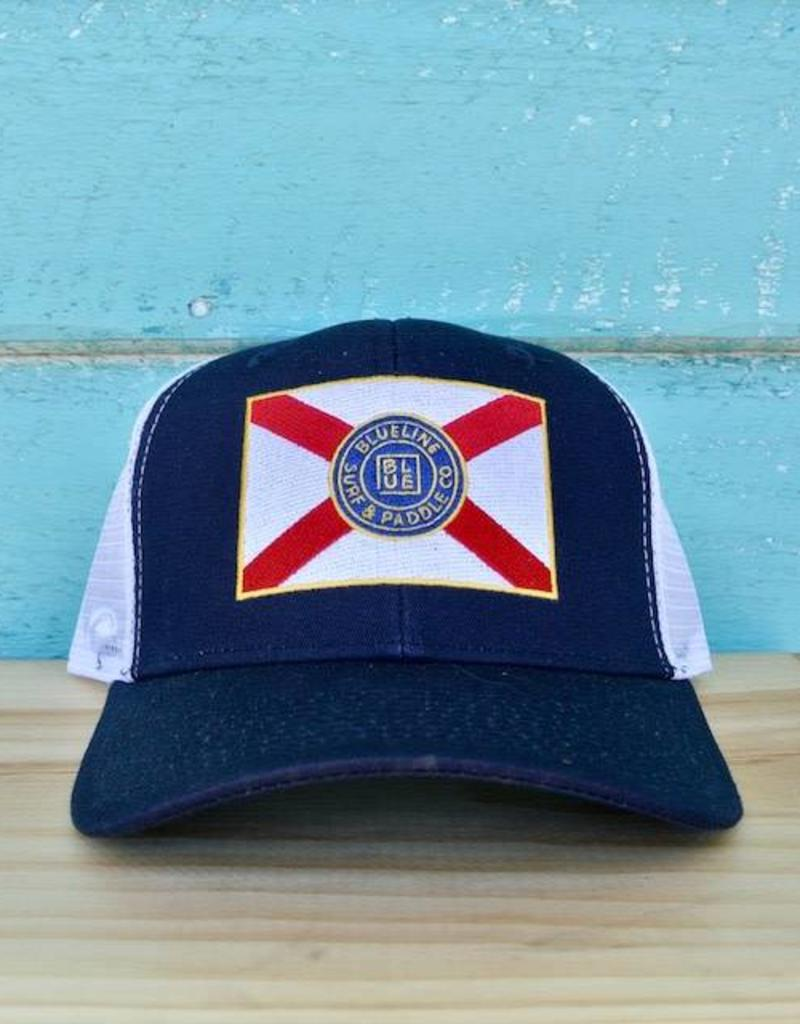 71e19209f29 ireland florida sunset yupoong trucker hat navy sunshine state d3099 3dcea   low cost florida flag curved bill hat 99c55 e1b7e