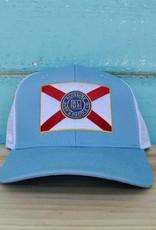 Florida Flag Curved Bill Hat
