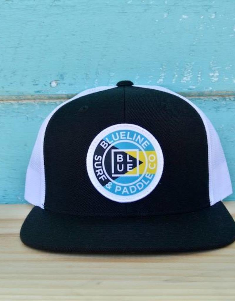 Original Bahamas Flag Flat Bill Hat