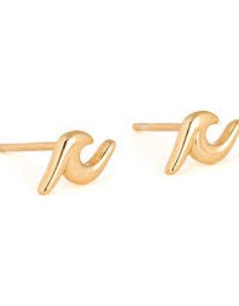 PURA VIDA EARRINGS GOLD