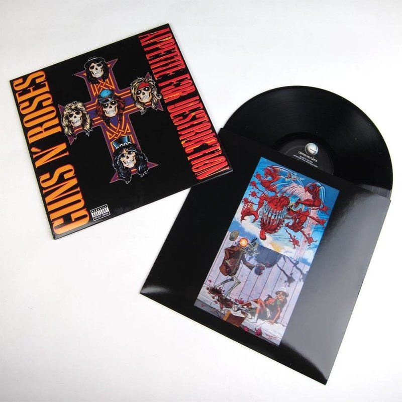 Guns N Roses: Appetite For Destruction (2LP/Remaster)
