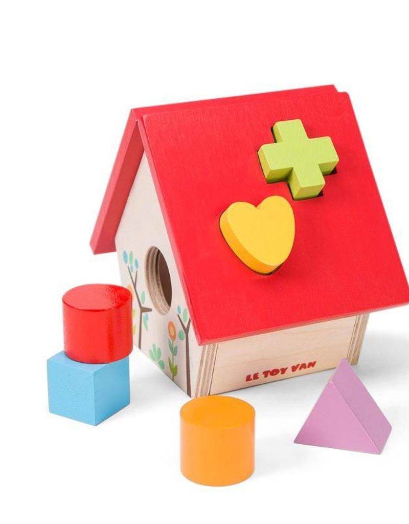 Le Toy Van Ma petite boîte à forme - Maison d'oiseau