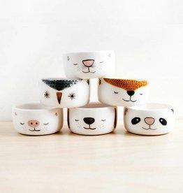 Noe Marin Ceramiste Ceramic - cute animal bowls
