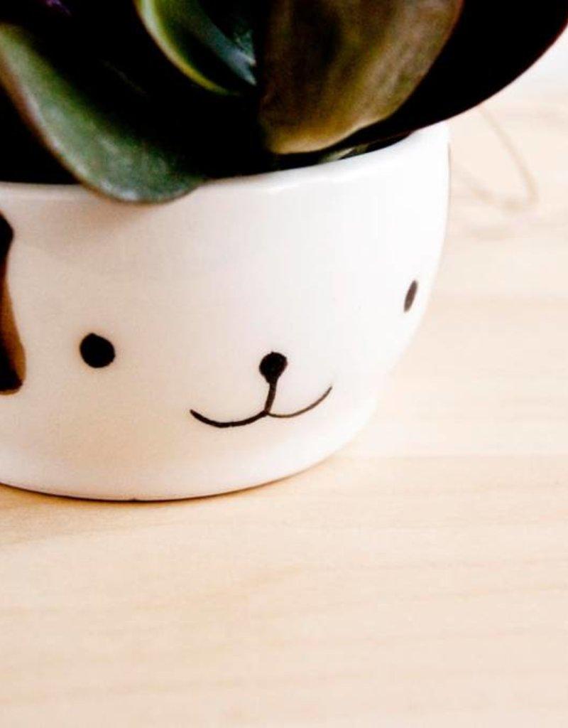 Noe Marin Ceramiste Ceramic - cute hanging planter