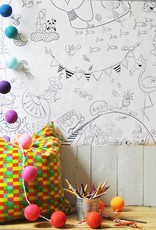 Atelier Rue Tabage Festive - Giant coloring
