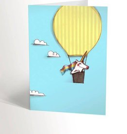 Valérie Boivin Illustrations Carte de souhaits - Ciel