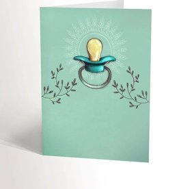 Valérie Boivin Illustrations Greeting Card - Birth