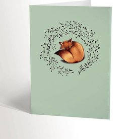 Valérie Boivin Illustrations Greeting Card - Sweet Fox