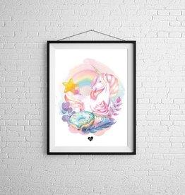 Zack et Livia Illustration - Licorne