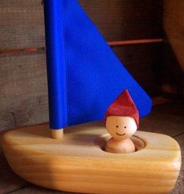 Atelier Cheval de bois Dériveur en bois pour le bain