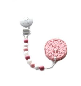 Bulle bijouterie Duo Attache-suce & Oreo rose