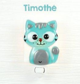 Veille sur toi Nightlight - Cat - Timothé