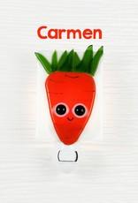 Veille sur toi Veilleuse - Carotte - Carmen