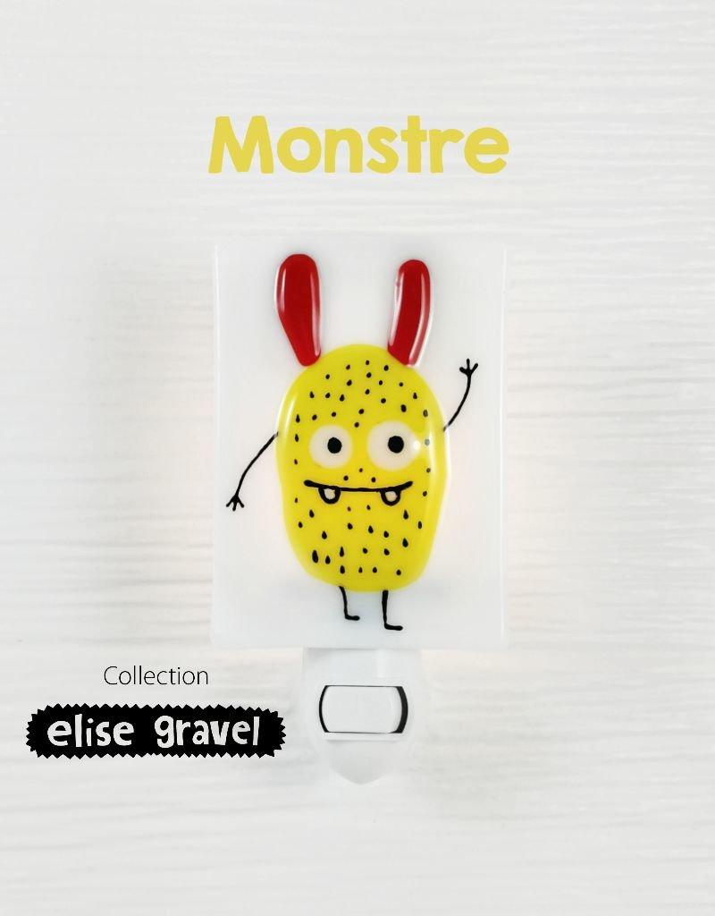 Veille sur toi Nightlight - Monster - Elise Gravel