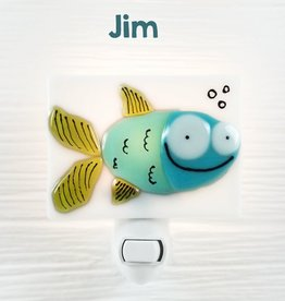 Veille sur toi Veilleuse - Poisson - Jim