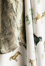 Les Petits Ziboo Blanket - Forest animals