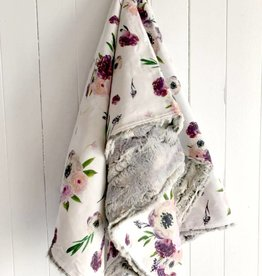 Les Petits Ziboo Couverture - Fleurs mauves
