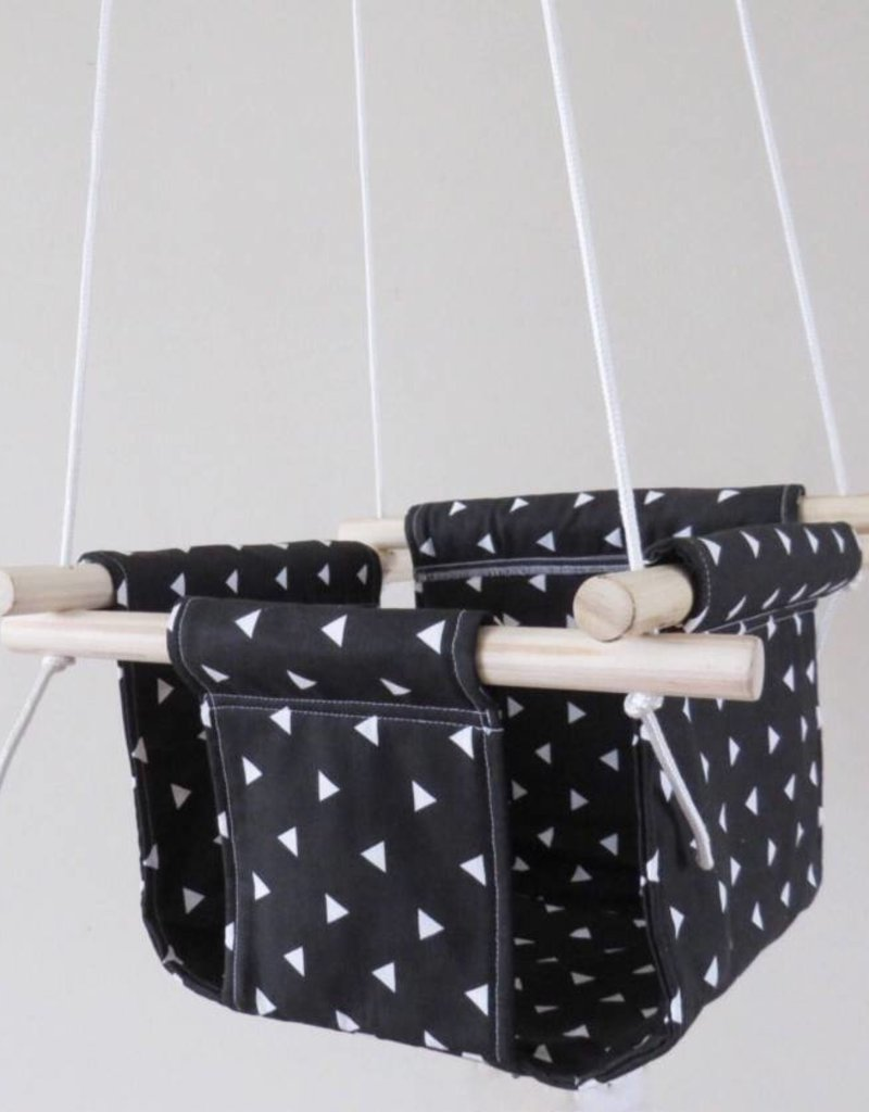 Cyan Baby swing - Black and white