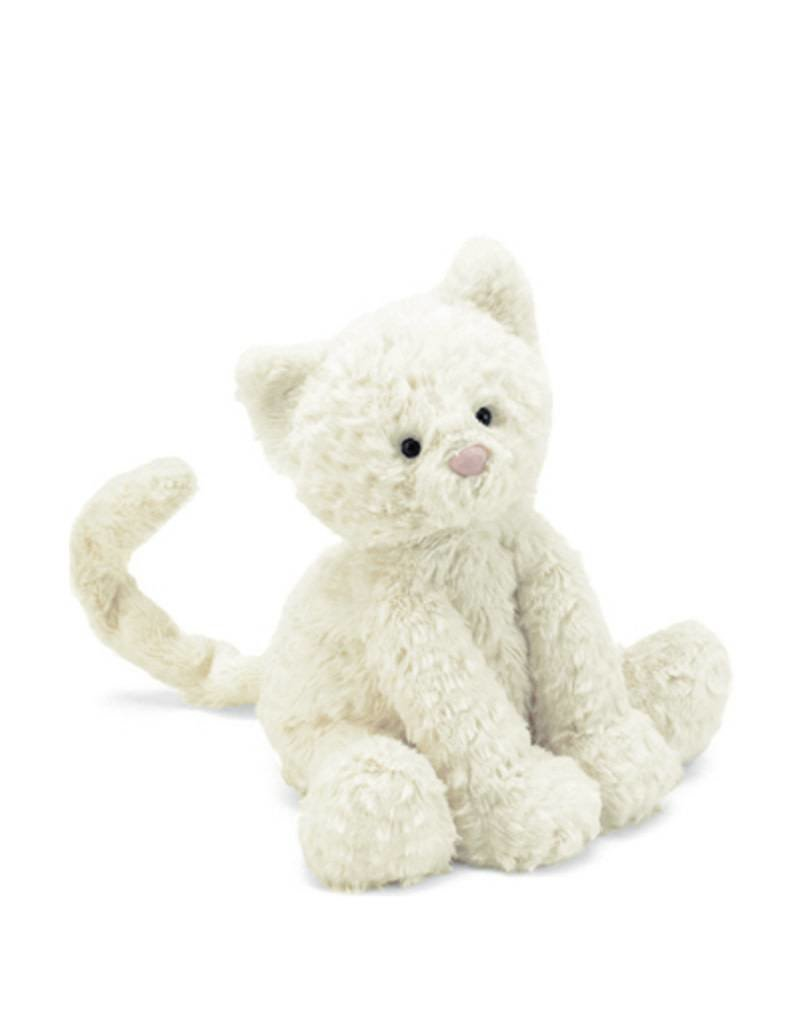 Jelly Cat Peluche Chaton blanc