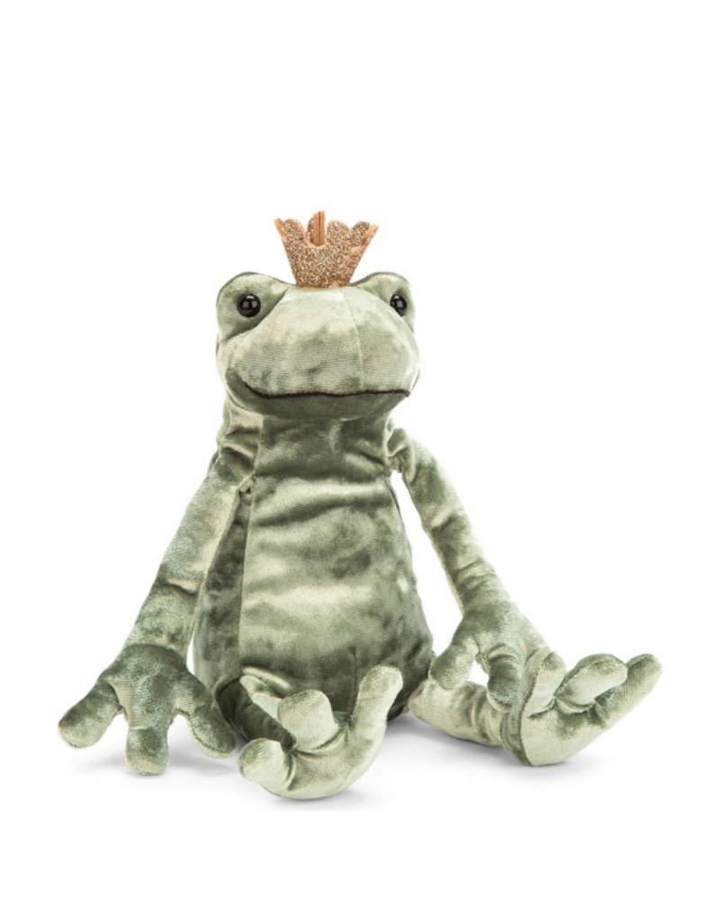 Jelly Cat Peluche Grenouille Prince
