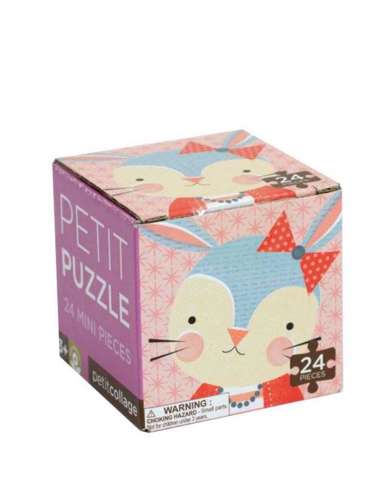 Petit Collage Casse-tête - Mini-Boîte Lapin 4+