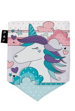 Poches & Fils Kid round-neck - Pocket Unicorn Clara