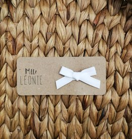 Mlle Léonie Copy of Bandeau Boucle - Dentelle Blanc
