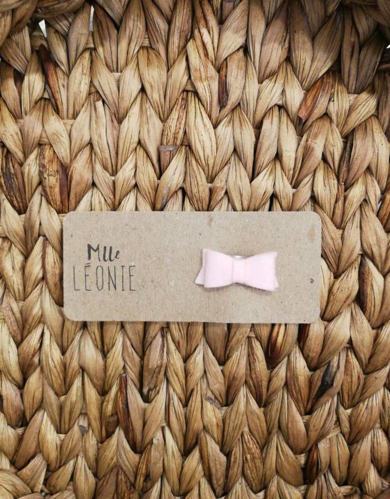 Mlle Léonie Copy of Barrette individuelle - Boucle Rose Fleurie