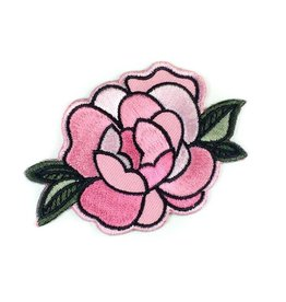 Tattoo It Écusson autocollant - Fleur rose