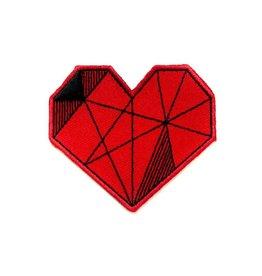 Tattoo It Écusson autocollant - Coeur rouge